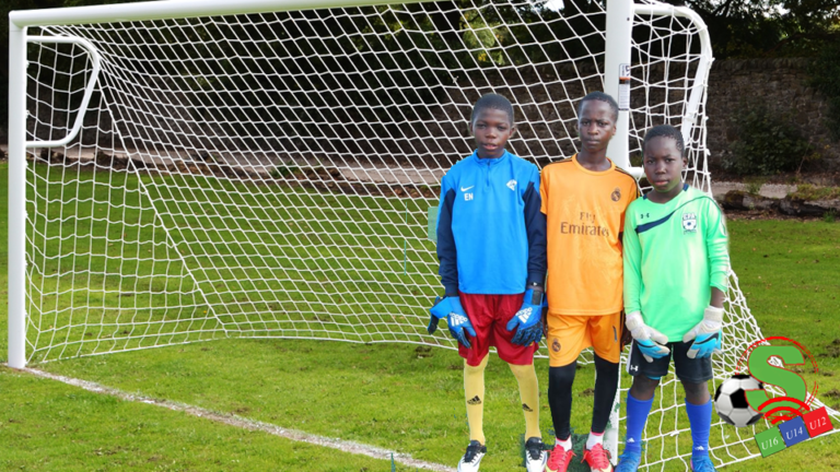 Sessions for the goalkeeper training.